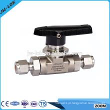 Válvula de esfera de aço inoxidável de 1/2 polegada fabricante China