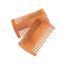 Новый 2018 лучший продаем ручной работы деревянный волос борода гребень
