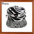 Zebra Stripe Snapback Hats and Caps 6 Panel Caps