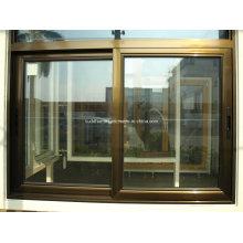 Energy Rated Bronze Aluminum Frame Sliding Window Preços