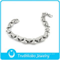 TKB-B0114 Jewelry manufacturer china mechanical design silver 316L stainless steel mens bracelet