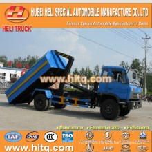 4X2 DONGFENG brand 190hp capacity of 10 tons rear loader garbage truck 10tons high quality and inexpensive in China.
