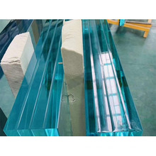 Building glass oversized overlength laminated glass 12mm tempered