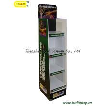 Энергосберегающие лампы бумажный Дисплей, светодиодный дисплей картона (B и C-A075)