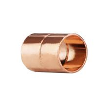 A18 diâmetro da tubulação nominal 1/2 polegada de encaixe de ponteira de acoplamento de cobre em linha reta igual com soquete de suor