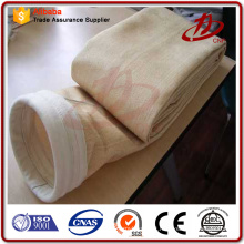 Livre de amostras coletor de poeira saco de filtro de produção de aço da planta
