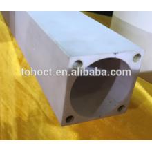 Глинозема Al2O3 керамическая прямоугольная труба штанга