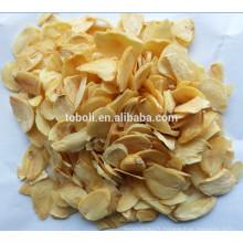 Flocons d'ail déshydratés Grade B avec racine
