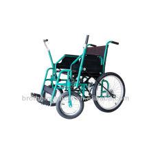 Home care dobrável bariatric cadeiras de rodas padrão BME4640 para idosos CE