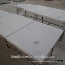 Tabuleiro de banheiro em acrílico de 600mm para banheiro de hotel