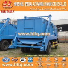 DONGFENG 8cbm hermetic garbage truck arm roll garbage truck for sale 4x2 factory direct quality assurance