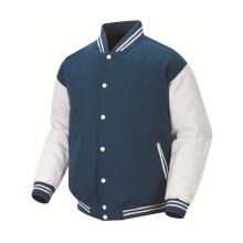 2016 Nueva tela de calidad superior de la llegada para la chaqueta del equipo universitario
