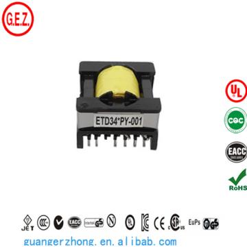 Transformateur ETD34 haute fréquence personnalisé
