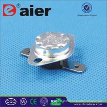 Contrôleur de température de Daier 10 / 15A Polonais plat KSD301-BF2 50 ~ disjoncteur de 180 degrés
