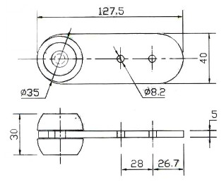 Roller Pulley Kits for Curtain Side Van Parts