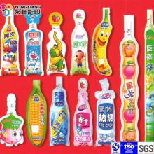 Flüssige Getränke Plastikverpackung geformter Beutel