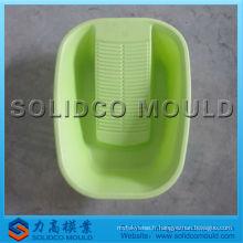 bassin de lavage en plastique moule d'injection