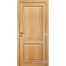 Inacabado Carvalho interior folheado 2 painel composto stile e porta de madeira do trilho