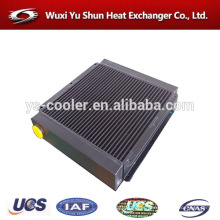 plant custom made plate fin extruded aluminum radiator