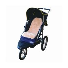 Baby sheepskin stroller liners