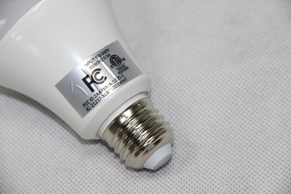 Iluminação doméstica inteligente Wifi bulbo Lâmpada LED