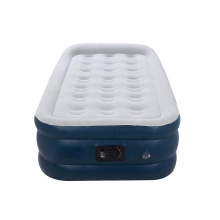 Lazy Sleep Inflatable Mattress with Rechargeable Electric Pump Easy Inflation Compact Portable Camping Airbed with Carrying Bag