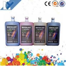 Tinta al por mayor del solvente de la galaxia Dx5 Eco de la fábrica de China para la cabeza de impresora Dx5 / Dx4 / Dx7