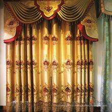 Tissu en rideau organza double couche avec élégance