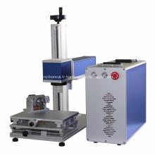 Laser de fibre de machine d'inscription en métal pour les produits électroniques