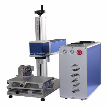 Laser à fibre de machine de marquage des métaux pour les produits électroniques