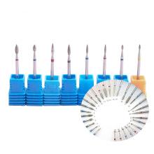 Factory OEM ODM nail drill machine tool polish grinding sanding manicure tungsten diamond nail drill bit