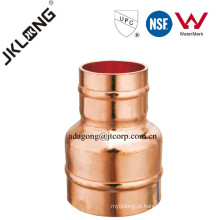 J9303 Copper Fitting Solder Anel Acoplamento In Pipe Reducer