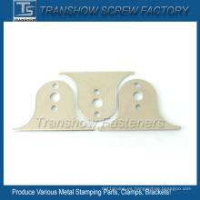 Piezas de estampado de acero de carbono medio chapado en níquel