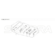 KIT FERRAMENTA Para LONGJIA LJ125T 8M Spare Part Top Quality