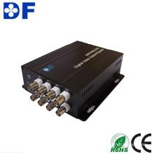 Melhor Preço 8CH Video to Video Optical Transceiver