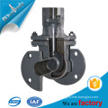 Casted technic Gost gate valve in steel material with handwheel online website