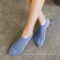 Female low cut non slip boat women socks
