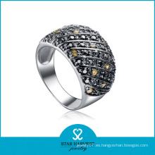 Alta calidad AAA CZ anillos de dedo anverso
