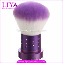 Última moda personalizada maquillaje cepillo caliente de la venta