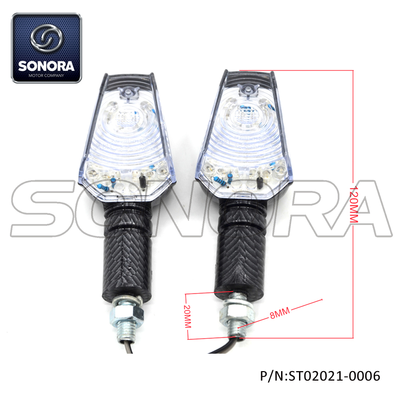 ST02021-0006 Plastic Shell, 28 LED E-mark LED Light (1)