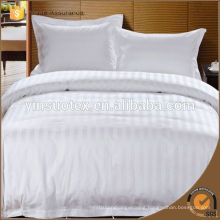 White Quilted Satin Fabric