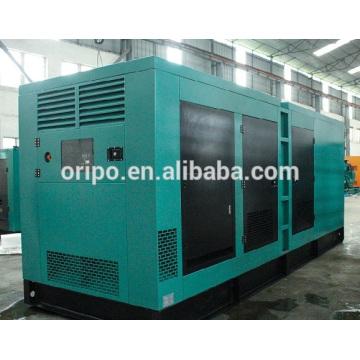 Conception de la centrale électrique Cummins dans un générateur de type silencieux à usage industriel