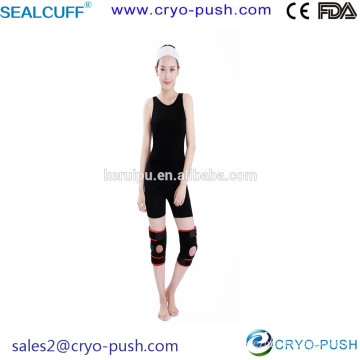 Sealcuff Knee Pad for Sport People and Old Man or Woman with Spring