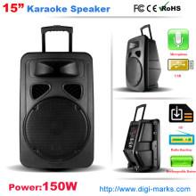Batería recargable DJ Speaker Función inalámbrica Bluetooth