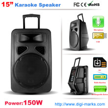 Bateria recarregável DJ Speaker Bluetooth sem fio Função