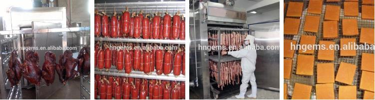 Sausage Smoke Machine