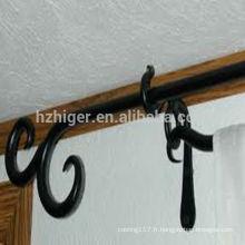 pièces de rail de rideau / pièces de rideau en aluminium / pièces en métal pour des tringles de rideau