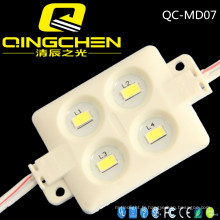 Hot Sale 4chips Square Super Bright Rgbyw Couleur 5050 / SMD5730 Injection Module LED