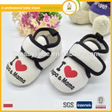 Fabricante no ningbo 2015 estilo novo atacado atacado inverno sapatos de bebê suave vender bem no Japão