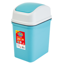 8321 flap-lid plastic trash can
